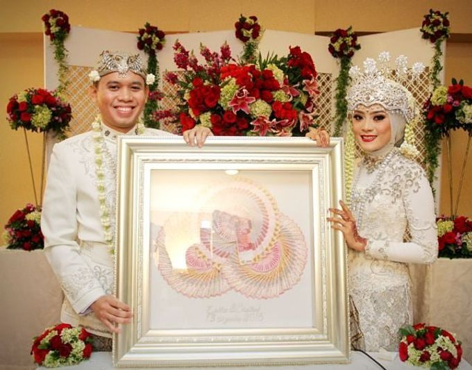 The wedding of Zahra and Chairul by Seserahan by Rose Arbor - 005