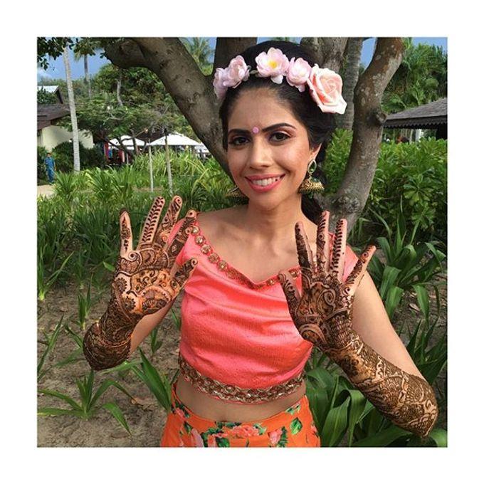 Bridal Henna - Intricate by Nakreze Mehndi - 001