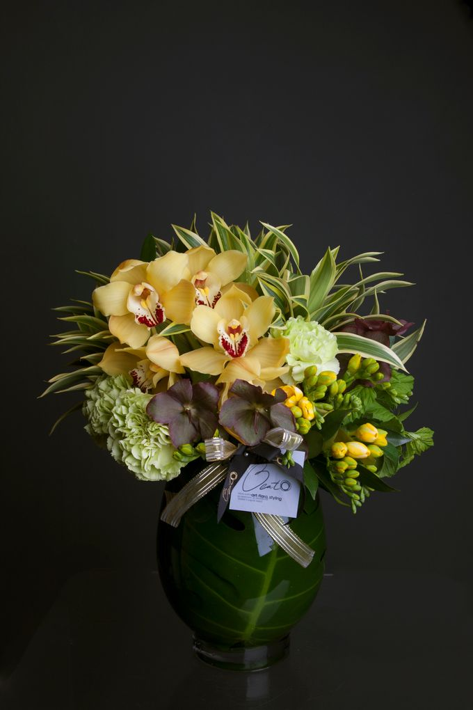 Flora Styling in vase by Beato - 014