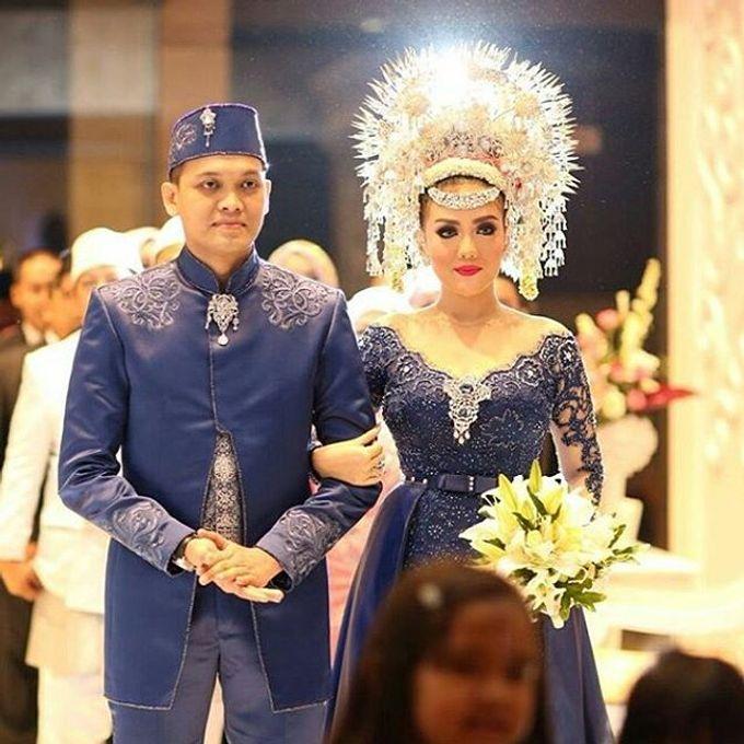 Ayu & Fadil Wedding Day by Violetta Wedding - 001