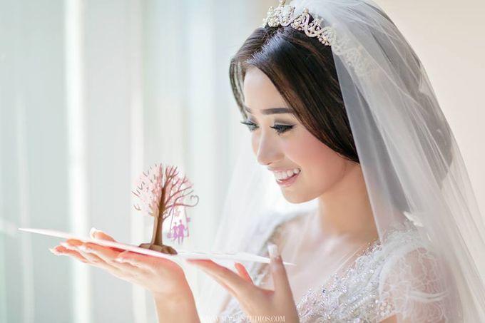 WEDDING DAY OF STEPHANUS & JANE by Fedya Make Up Artist - 003