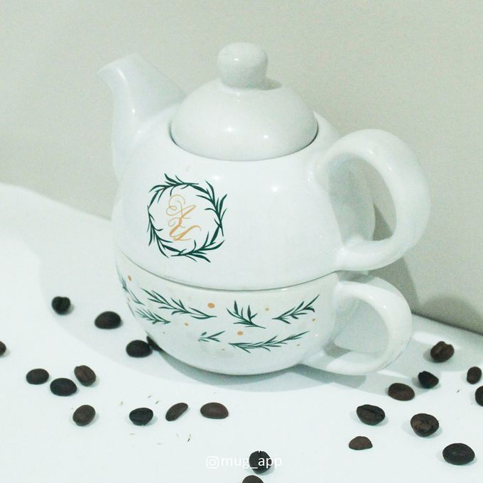 TEKO SUSUN ALADIN SIMPLE DESIGN by Mug-App Wedding Souvenir - 001