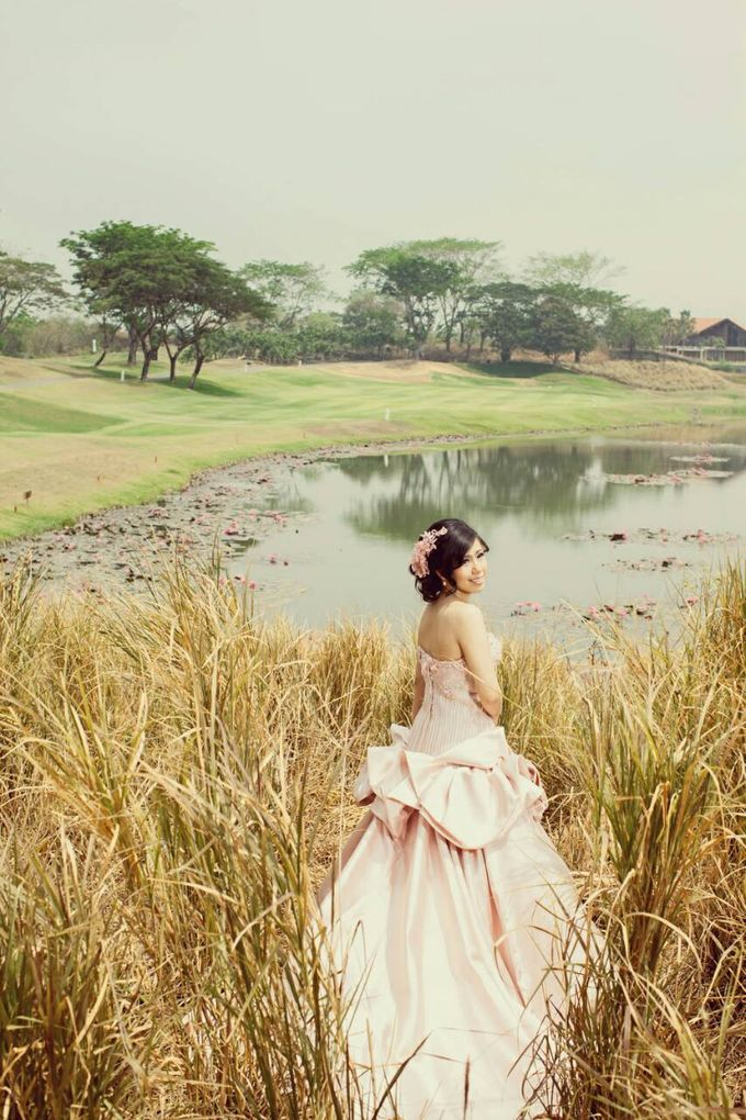 Prewedding makeup by Makeup by Ie - 009