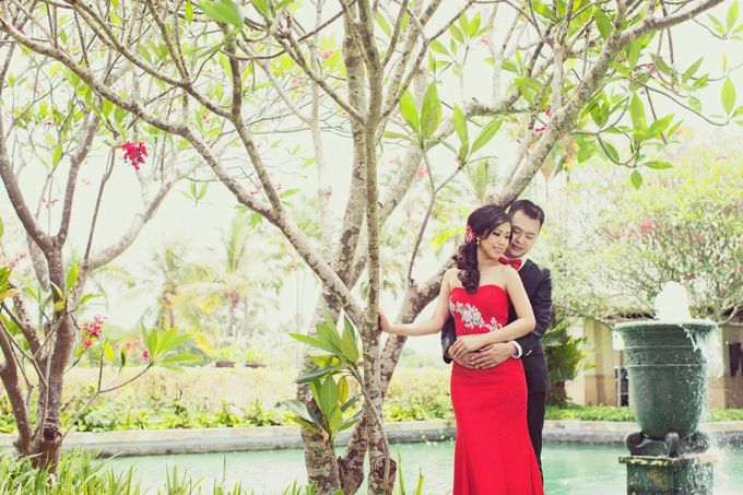 Prewedding makeup by Makeup by Ie - 005