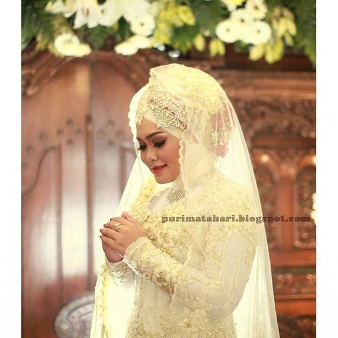 Pengantin Muslim by Puri Matahari Rias Pengantin - 044