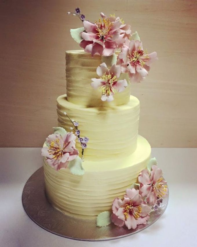 Dainty Sweet Floral Cakes by The Delights Heaven - 005