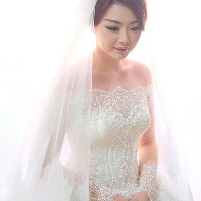 YOZAL & STEFHANI WEDDING DAY by Tinara Brides - 009