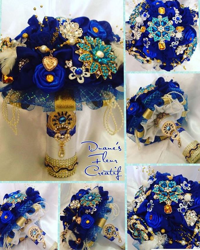 Handcrafted Bouquets and Wedding Accessories  by Duane's Fleur Creatif - 024