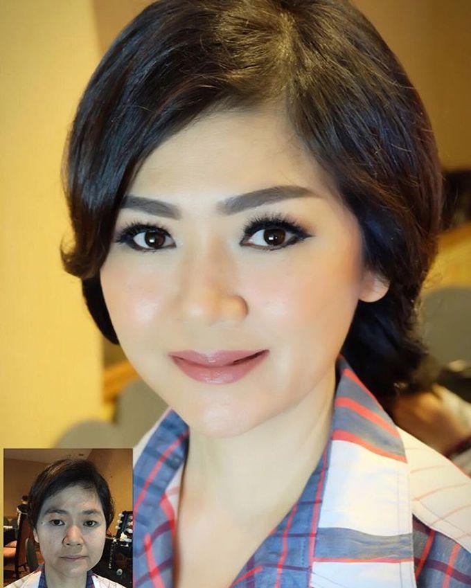 Wedding Makeup ,Mom ,Sister by Niken Xu Makeup Artist - 042
