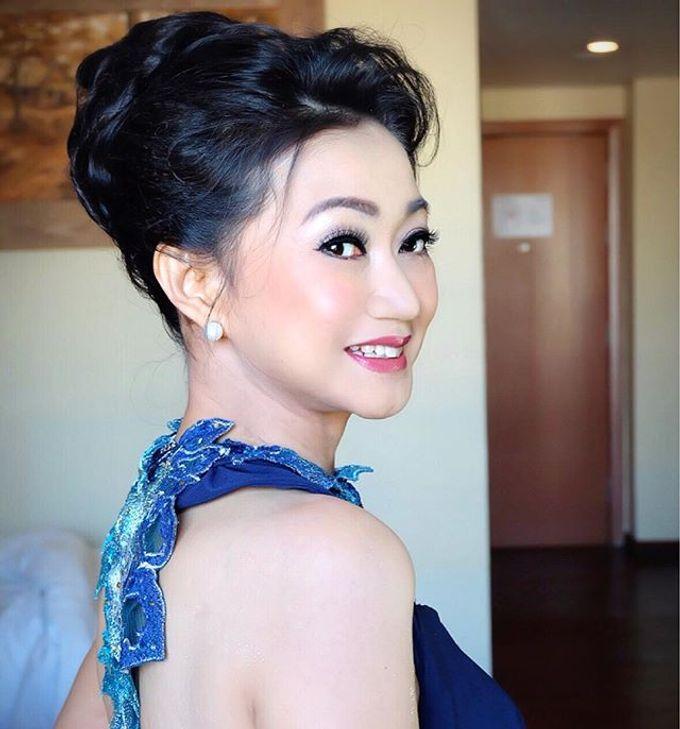 Wedding Makeup ,Mom ,Sister by Niken Xu Makeup Artist - 030