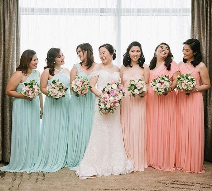 Customized Bridesmaids Dresses by White Label Bridal - 014