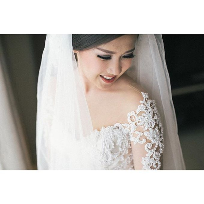 JEFFRY & CALISTA WEDDING DAY by Tinara Brides - 021