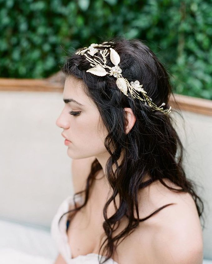 Regal Bridal Crowns and Tiaras and Headpieces by Eden Luxe Bridal - 024
