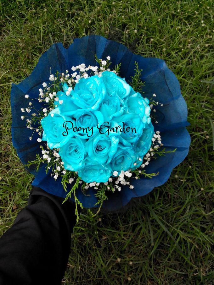 Peony Hand Bouquet by Peony Garden Bali - 001