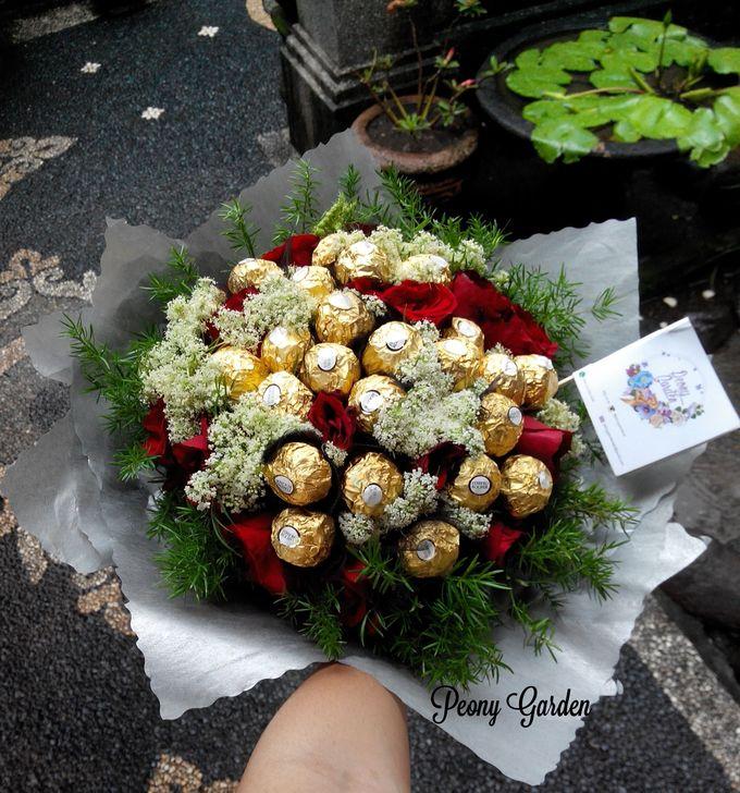 Peony Hand Bouquet by Peony Garden Bali - 002
