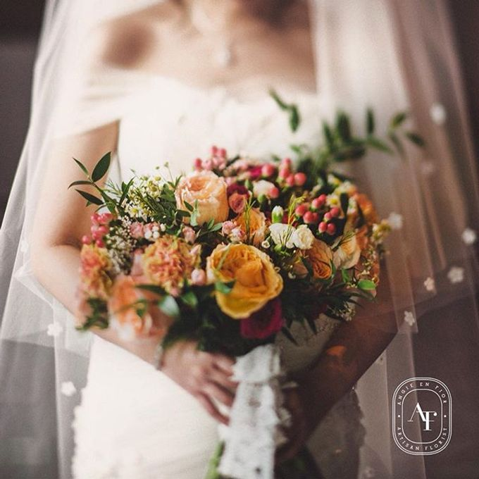 Bride Bouquet by Angie Fior - 004