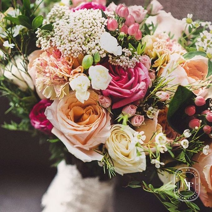 Bride Bouquet by Angie Fior - 037