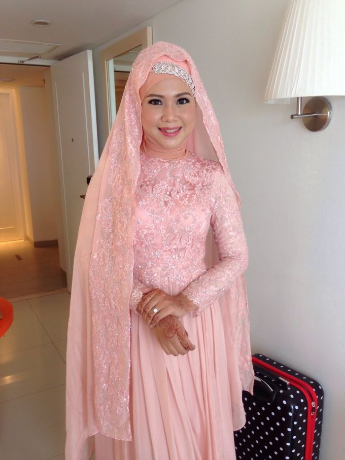 Walid & Aulia Wedding by bjcmakeupartist - 004