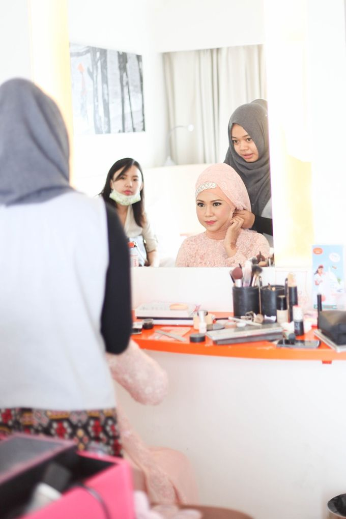Walid & Aulia Wedding by bjcmakeupartist - 002