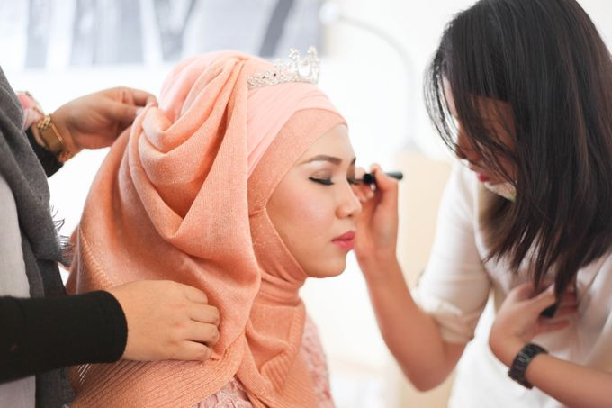 Walid & Aulia Wedding by bjcmakeupartist - 001