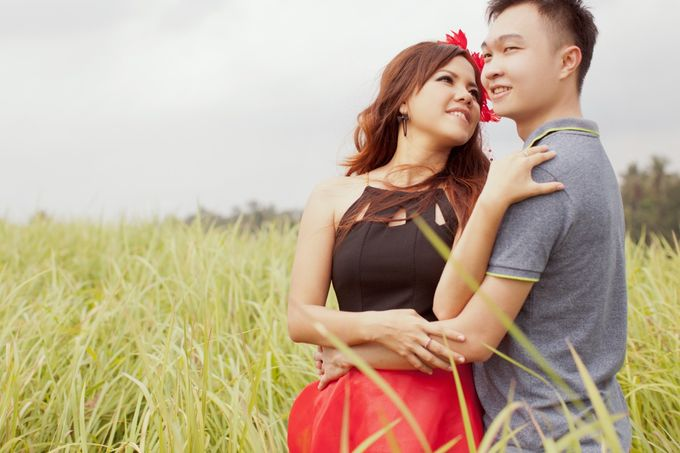 Mell and Aried Prewedding by bjcmakeupartist - 001
