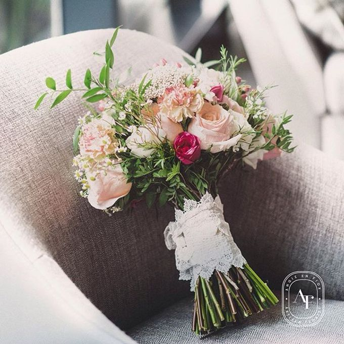 Bride Bouquet by Angie Fior - 036