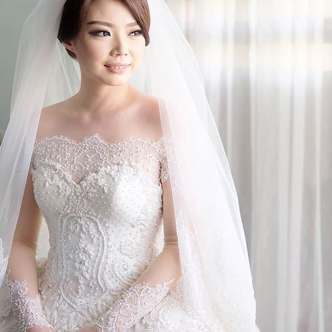 YOZAL & STEFHANI WEDDING DAY by Tinara Brides - 010