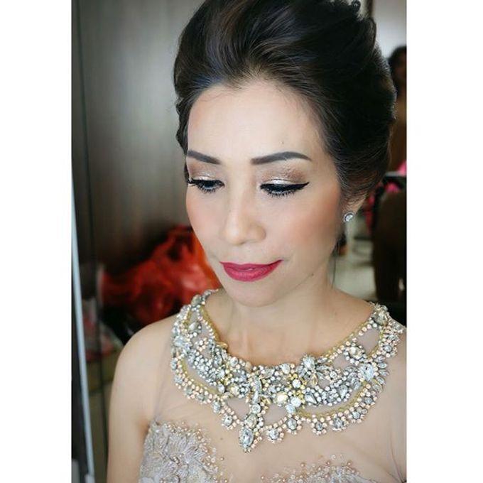 Wedding Makeup ,Mom ,Sister by Niken Xu Makeup Artist - 039