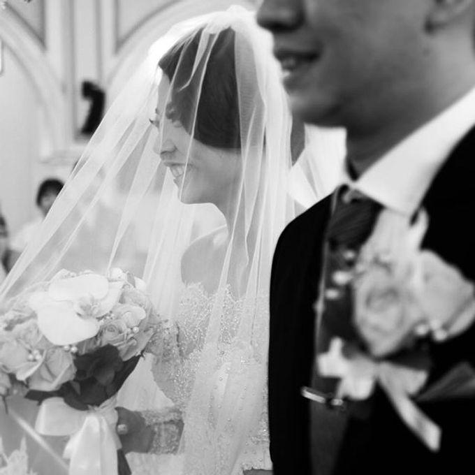 YOZAL & STEFHANI WEDDING DAY by Tinara Brides - 005