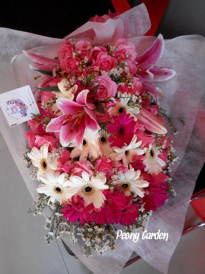 Peony Hand Bouquet by Peony Garden Bali - 007