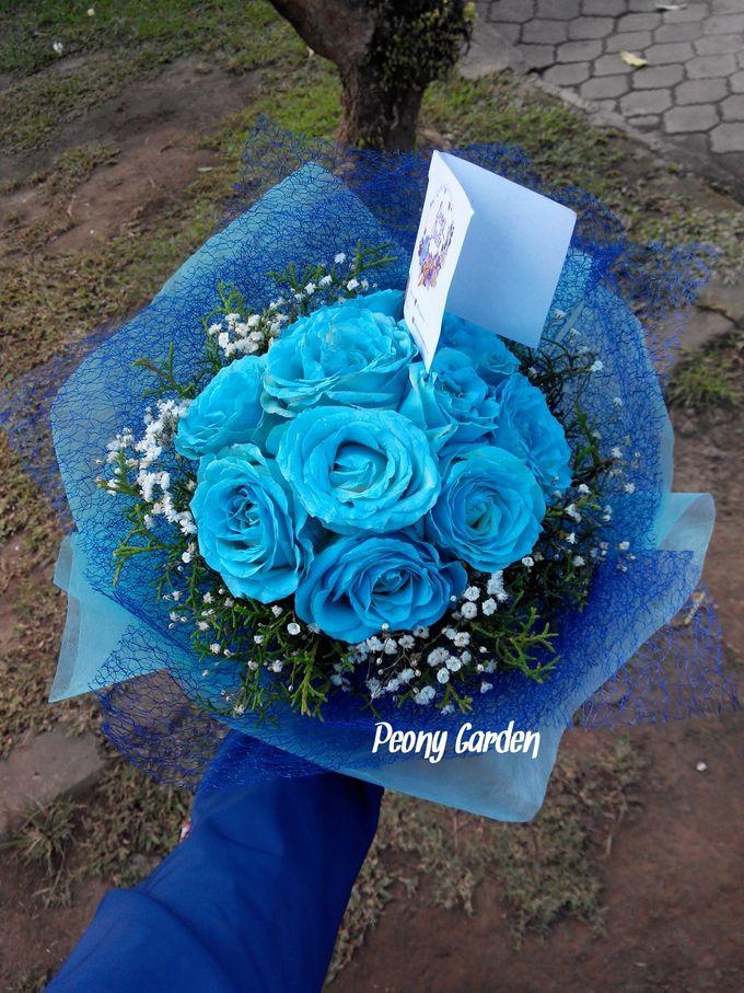 Peony Hand Bouquet by Peony Garden Bali - 008
