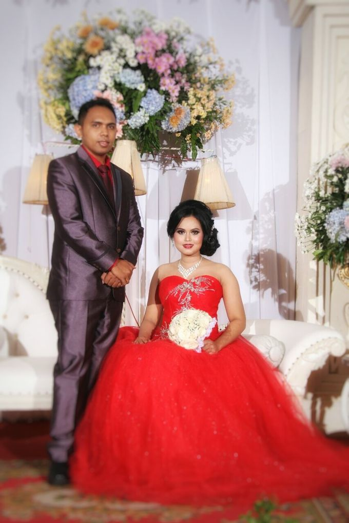 Ria and Anton wedding day by Xinxin Make Up - 003