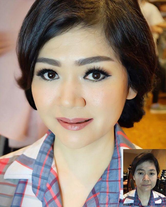 Wedding Makeup ,Mom ,Sister by Niken Xu Makeup Artist - 040