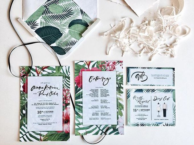 Collection of Bespoke Wedding Invitations by KidGolightly Calligraphy - 001