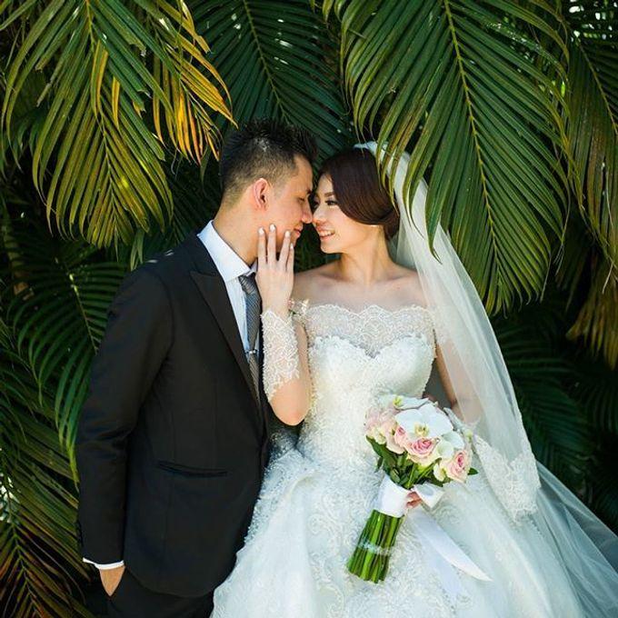 YOZAL & STEFHANI WEDDING DAY by Tinara Brides - 011