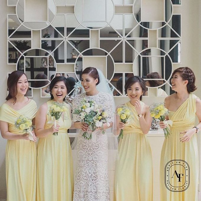 Bride Bouquet by Angie Fior - 041