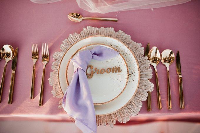 Soft Purple & Lavender Decoration Wedding by Bali Izatta Wedding Planner & Wedding Florist Decorator - 004