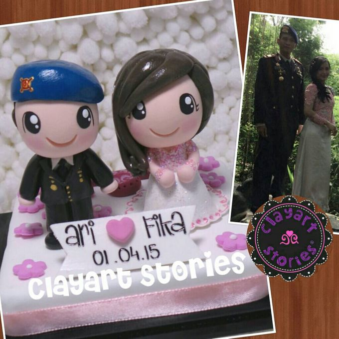 Wedding Clay by Clayart Stories - 003