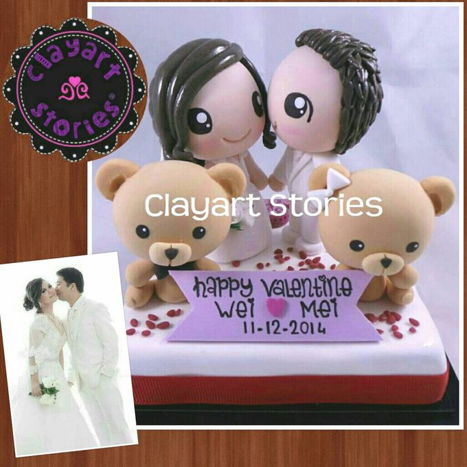 Wedding Clay by Clayart Stories - 001