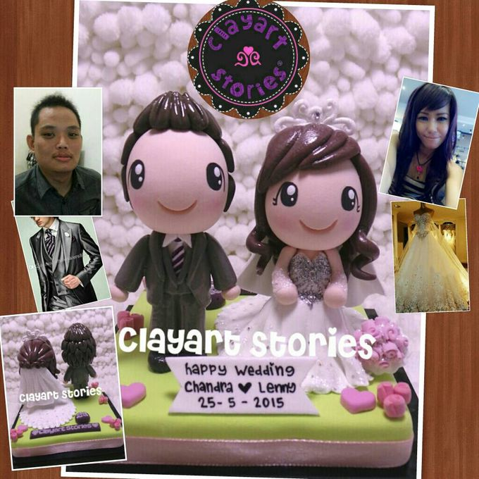 Wedding Clay by Clayart Stories - 013