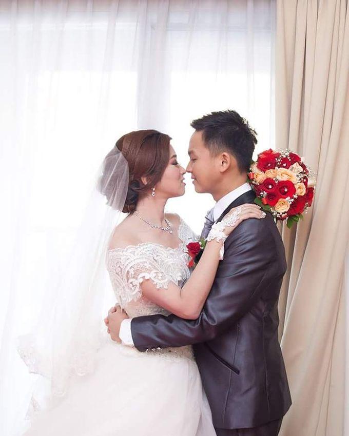 Wedding day Jon & Wilen by Meicen Professional Makeup Artist - 004