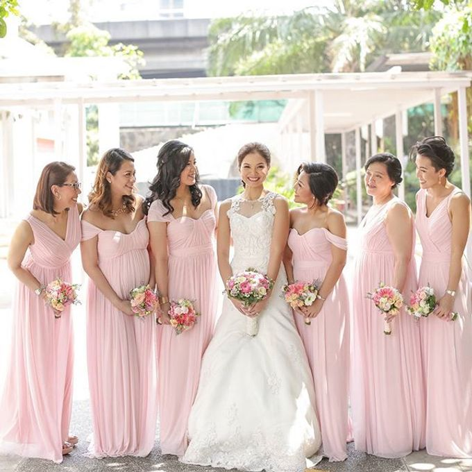 Customized Bridesmaids Dresses by White Label Bridal - 012
