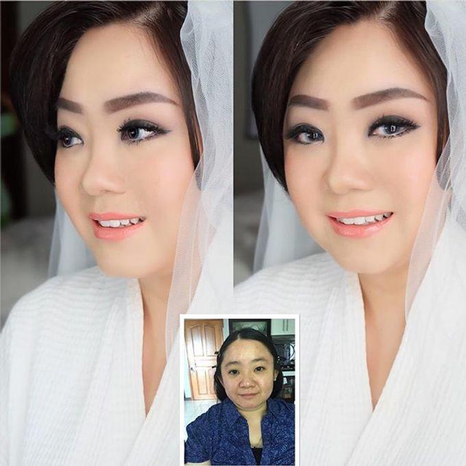Wedding Makeup ,Mom ,Sister by Niken Xu Makeup Artist - 027