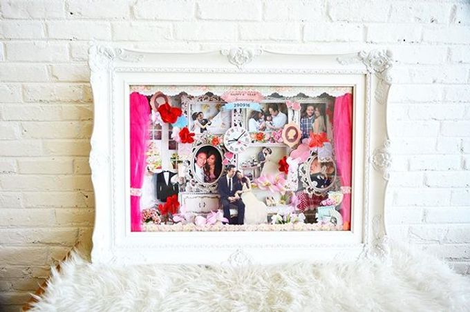 Scrap 3d frame by Cup Of Love Design Studio - 004