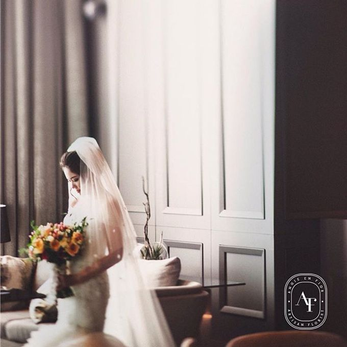 Bride Bouquet by Angie Fior - 039