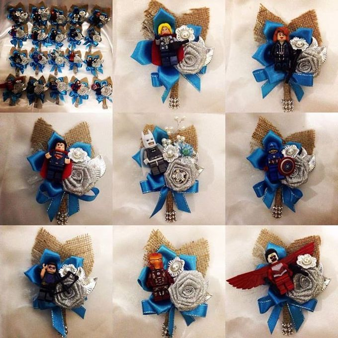 Handcrafted Bouquets and Wedding Accessories  by Duane's Fleur Creatif - 022
