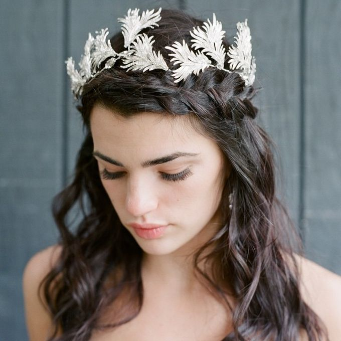 Regal Bridal Crowns and Tiaras and Headpieces by Eden Luxe Bridal - 023
