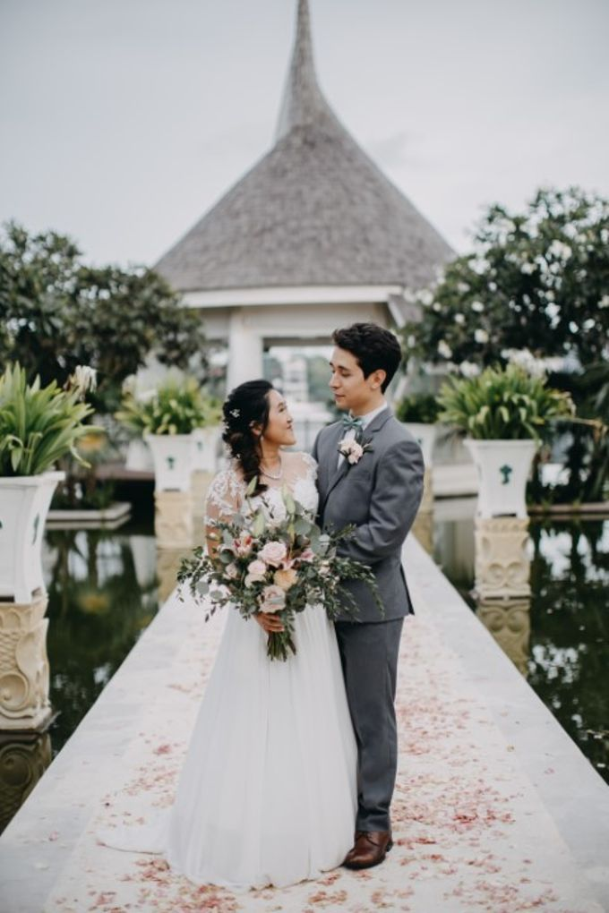Jessica & Antonio Wedding by Bali Brides Wedding Planner - 030
