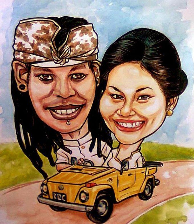 Wedding Souvenir by Bali Karikatur - 012