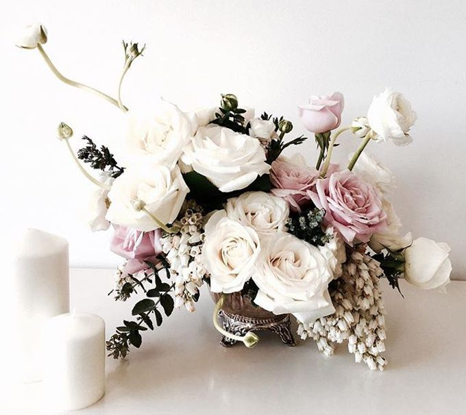 Custom arrangements by Itty Blooms & Styling - 006